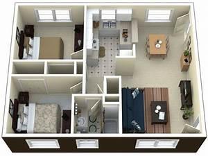 2, Bedroom, Apartment