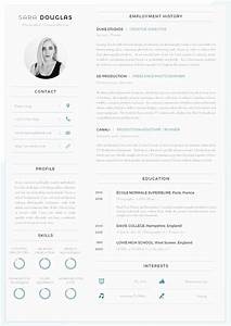 43 modern resume templates guru for Free resume layout templates