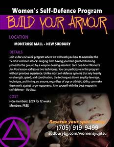 FREE Women ONLY Self Defense Seminar - Sudbury Brazilian ...