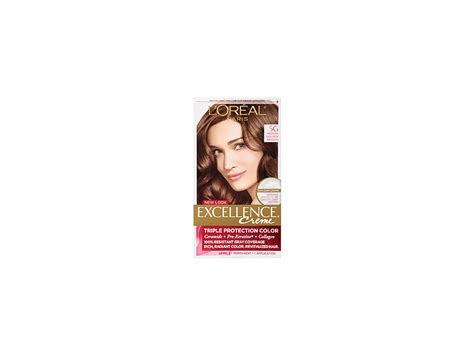 L'oreal Excellence Creme Permanent Hair Color, 5g Medium