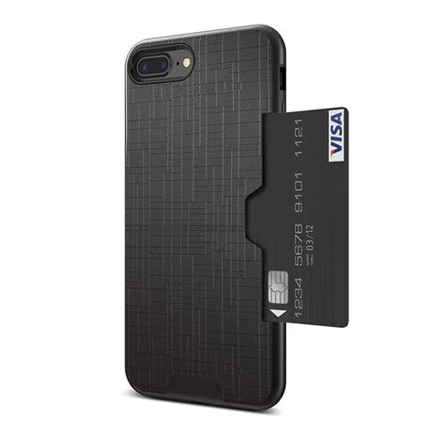 Whether you're all about style or for those people with way too many credit cards, this case has six slots, plus a big one for cash. iPhone Wallet Case isee- Apple iPhone 8/7 Plus Cases with ...
