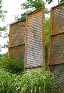 privacy screen keeps blowing over in the wind backyard With simple and easy backyard privacy ideas