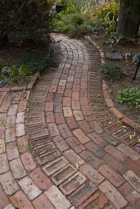 brick pathways 17 best images about circular paved areas and curved pathways on pinterest home entrances