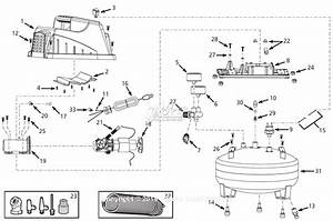 Campbell Hausfeld Fp202801 Parts Diagram For Air