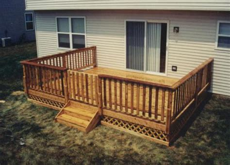 menards deck building plans 16 x 14 deck with gate and apron building plans only