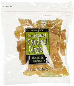 Trader Joe's Uncrystallized Candied Ginger x two Packs ...