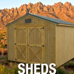 The Shed Las Cruces Nm by Weather King Portables Shopping 1501 S Valley Dr Las