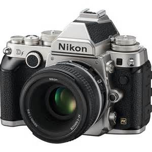 Nikon Df Camera with 50mm f/1.8 Lens (Silver) Nikon Df at ...