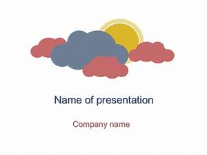 Day Powerpoint Download Free Cloudy Day Powerpoint Template For