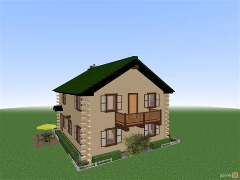 home floor planner log house revised roof apartment ideas planner 5d