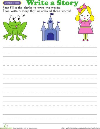 story starters fairy tales english 1st grade writing