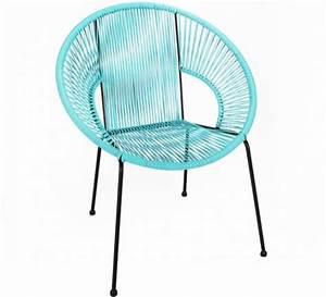 Fauteuil Fil Scoubidou : fauteuil jardin fil scoubidou chaise sofa fauteuil design ~ Teatrodelosmanantiales.com Idées de Décoration