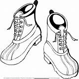 Boots Winter Coloring Hiking Drawing Pages Boot Snow Printable Shoes Drawings Templates Cowboy Christmas Painting Crafts Getcoloringpages Getdrawings Paintingvalley Clip sketch template