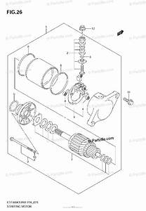 Suzuki Atv 2004 Oem Parts Diagram For Starting Motor