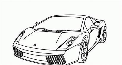 Ferrari Coloring Lamborghini Pintar Lambo Carros Colorear