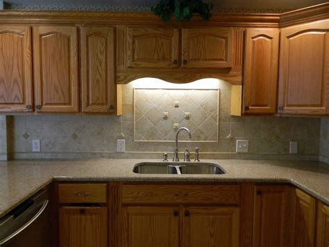 Awesome Oak Kitchen Cabinets With Granite