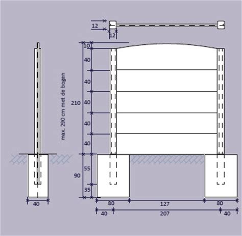 karwei impregneermiddel afmeting schutting betonmotief