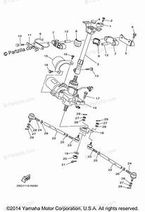 Yamaha Atv 2015 Oem Parts Diagram For Steering