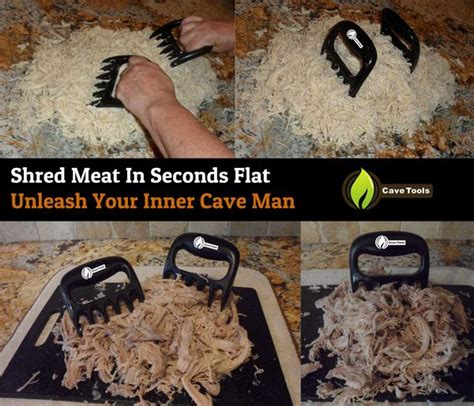meat claws  shredding handling carving meat cave tools
