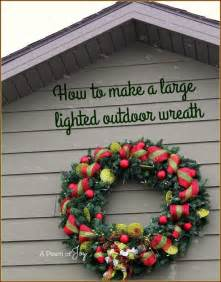 25 unique outdoor wreaths ideas on