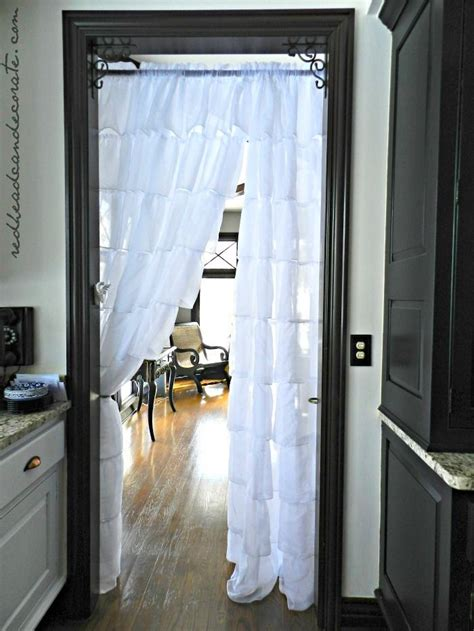 hanging curtains in our kitchen save tons of on your