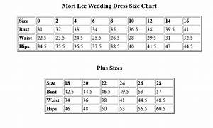 mori lee wedding gown size chart wedding ideas 2018 With wedding dress size chart
