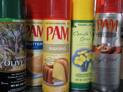 cooking spray    oil     calorie