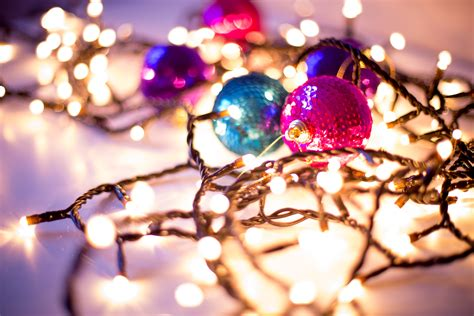 gorgeous christmas holiday themed bokeh wallpapers