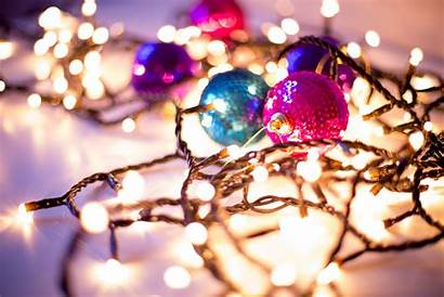Christmas Holiday Bokeh Themed Wallpapers Gorgeous Backgrounds