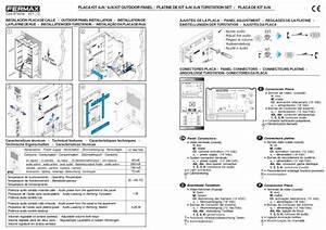 Fermax Installation Instructions