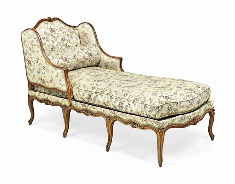 chaise cannée louis xv a louis xv walnut chaise longue mid 18th century