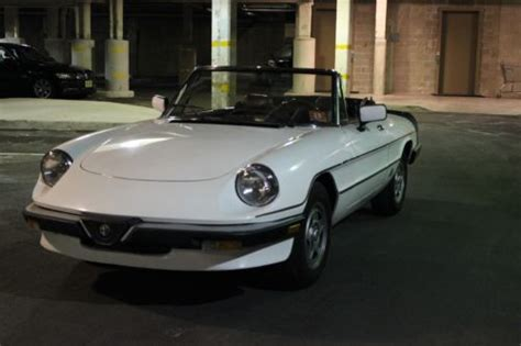 Sell Used 1985 Alfa Romeo Spider Veloce In Glen Ridge, New