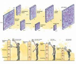 Shelf and Bookcase Design Standards - Home Storage Space