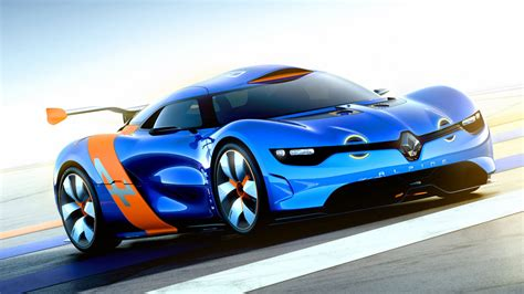 Renault Alpine Concept Car Wallpapers