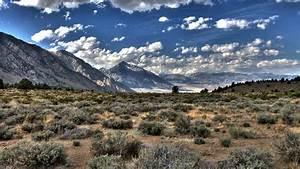 Nature, Desert, Clouds, Mountain, Landscape, Hill, Hdr