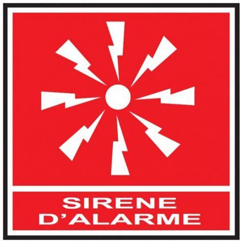 pictogramme sirene alarme pro signalisation