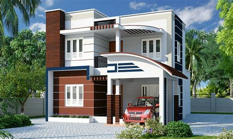 sq ft contemporary  bhk home designs veeduonline