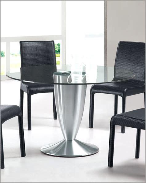 european style kitchen tables modern round glass top dining table european design 33d282