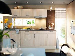Minimalist, Ikea, Kitchen, Cabinet, Selection, In, Lighter, Tone, For, Hygienic, Interior, Style