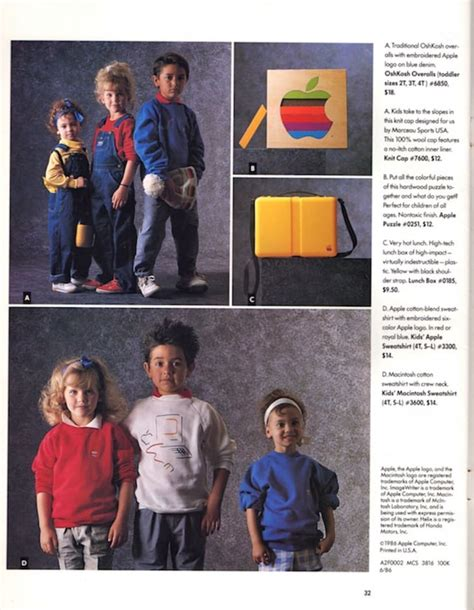 In 1986, Apple Launched a Clothing Line | Mental Floss