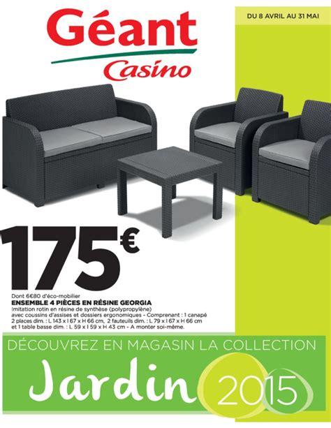 mobilier de jardin leclerc catalogue 2015 qaland com