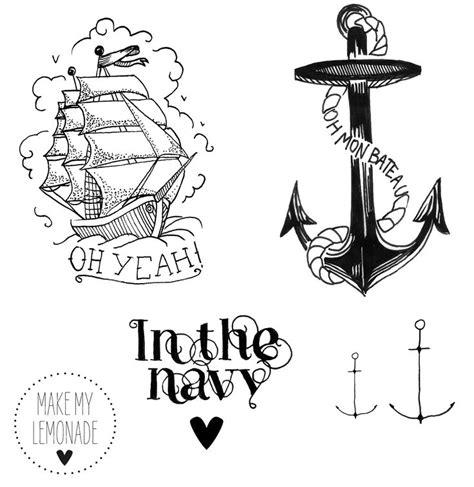 1000 id 233 es sur le th 232 me tatouages d ancre sur pinterest