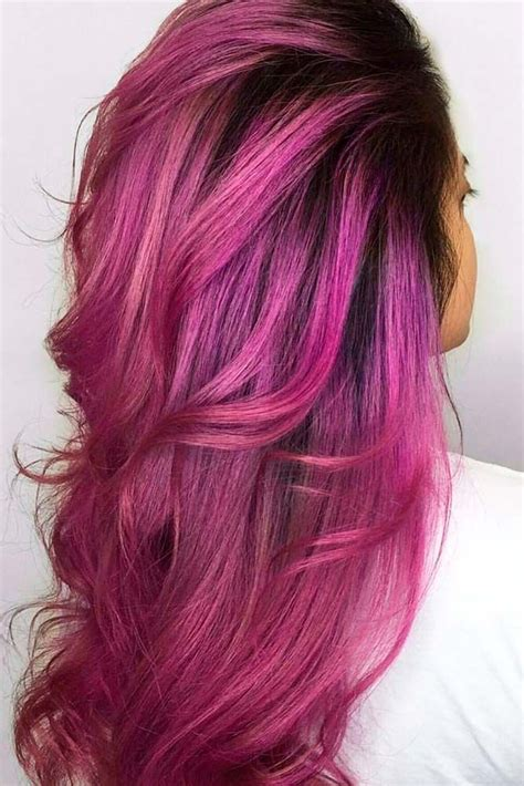 21 Loveliest Magenta Hair Color Ideas Women Hairstyles