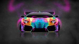 Lamborghini Aventador Blue Neon | Lamborghini Car ...