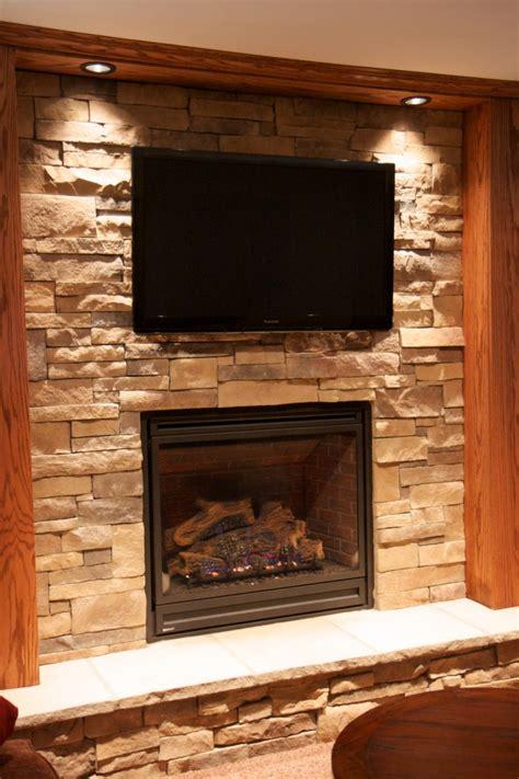 stone fireplaces  tvs north star stone