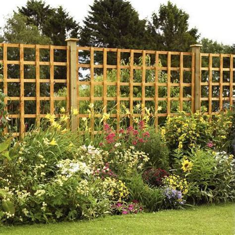 Square Wood Trellis by 6ft X 4ft Heavy Duty Square Trellis Panel Pressure