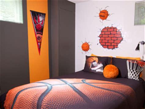 chambre basket point de départ en décoration blogue de via capitale