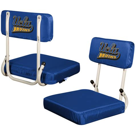 logo chair ncaa ucla hard back stadium seat walmart com