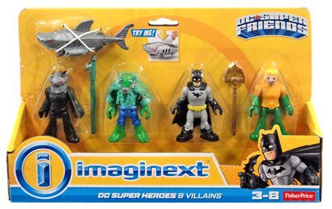 dc super friends imaginext batman heroes villains