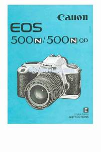 Canon Eos 500n Instructions Manual Pdf Download